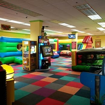 Ball pit, slides, bounce houses, arcade games and more!
