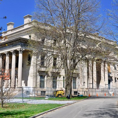 Vanderbilt Mansion National Historic Site, Hyde Park, NY - Exterior of Mansion
