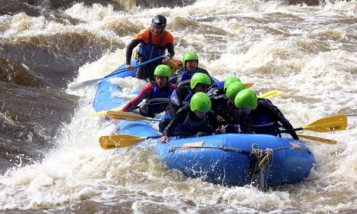 River Rafting Aberfeldy Scotland with Splash Rafting