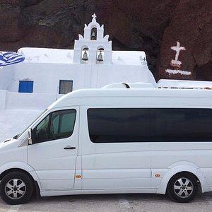Santorini Private Minibus Transfer
