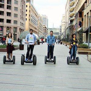 Ride in Northern Avenue, Yerevan