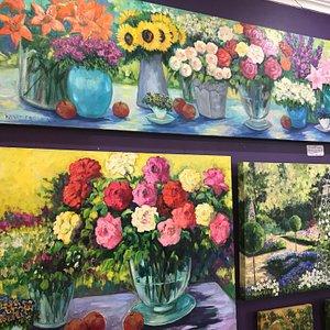 Beautiful new Winifred Louw paintings