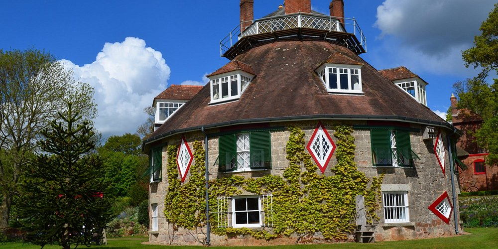 Originally thatched but still a delightful early summer sight.