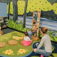 Our Toddler Play Area is perfect for children 3 and under.