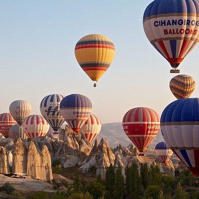 Каппадокия - полет на воздушном шаре. Экскурсия из Алании, Анталии, Кемера, Белека, Сиде.