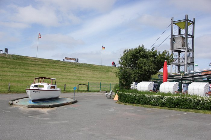 Rettungsturm Friedrichskoog Spitze am Wattenmeer