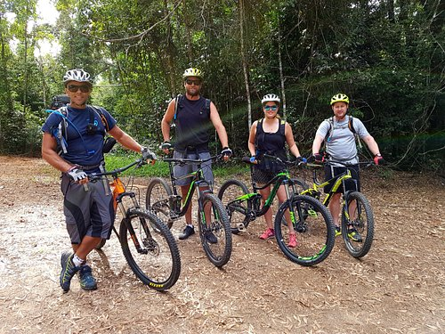 Mountainbike in the Rainforest and The Bump Track