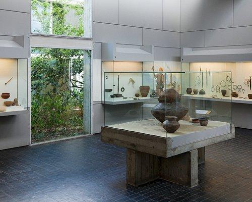 Salle 7 consacrée aux âges des métaux. Cliché Lucia Guanaes