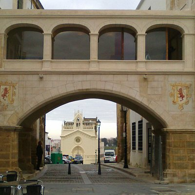 Arco desde primer plano