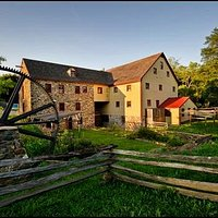 Historic 18th century mill located on the Red Clay Creek.