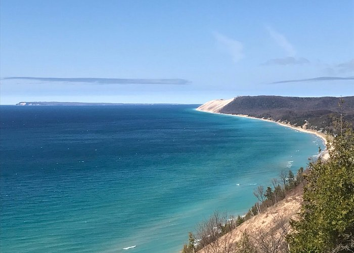 The million dollar view with South Manitou Island