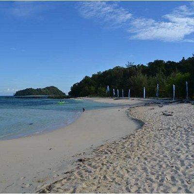 Saronde white beach sand