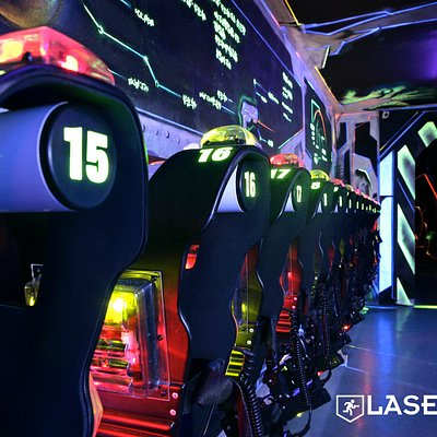 Lasergame vanaf 4 personen
