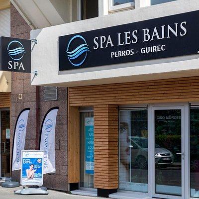 Devanture SPA Les Bains
