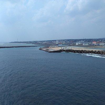 船上からの眺め