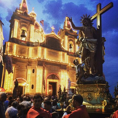Procession with the Titular Statue of Christ the Saviour in the Eucharist