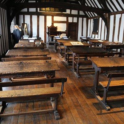Shakespeare's Schoolroom & Guildhall, Stratford upon Avon.
