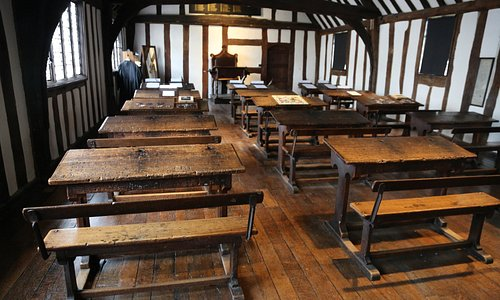 Shakespeare's Schoolroom & Guildhall, Stratford upon Avon.