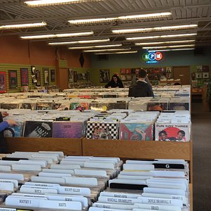 Great selection of everything vinyl.