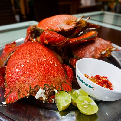 King crab, one of the best seafoods on the island