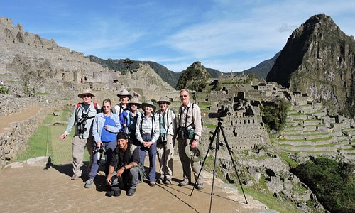 Nice birding experience with nice people in the group. Here with the Classic Machu Picchu Photo.