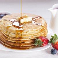 Saturday Brunch Buttermilk Pancakes (please reserve tables on Saturdays)