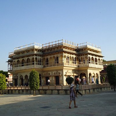 Within the City Palace Diwan-e-Khas is beautiful.