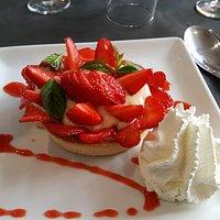 Tarte au fraises