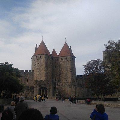 panoramica del castillo