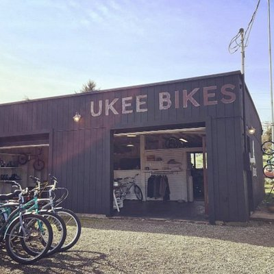 Ukee Bikes - Just down the hill and to the right from the co-op grocery store.