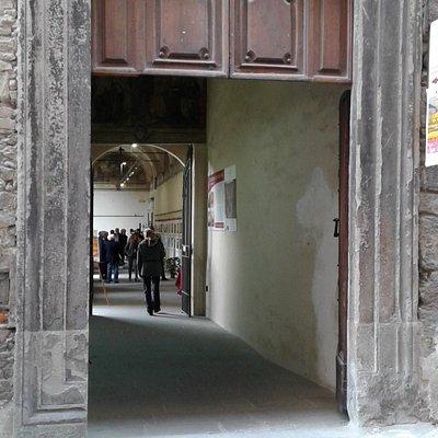 Portale d'ingresso del convento.
