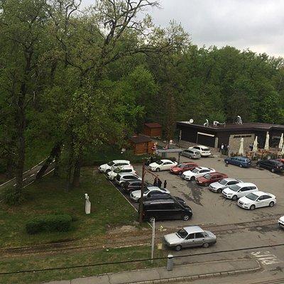 Parking y entrada al zoological gardens
