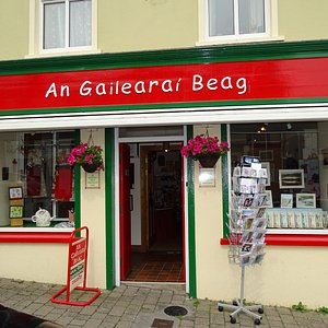 A showcase for the West Kerry Craft Guild, located on Main St in the heart of Dingle town