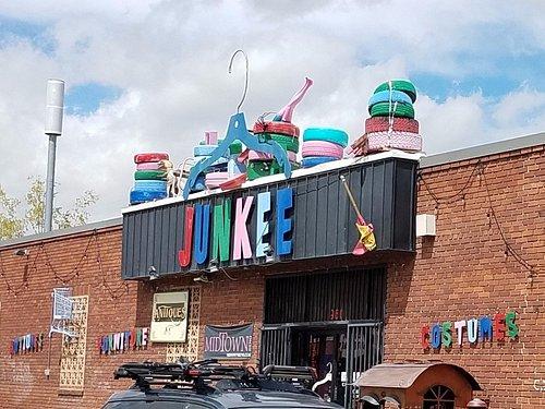 Outside Junkee Reno, NV