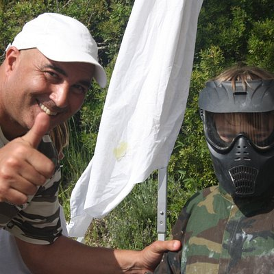 CRAZY PAINTBALL ADVENTURE  Esperamos por si! We wait for YOU! Safe & Clean - SINCE 1999 with YOU!