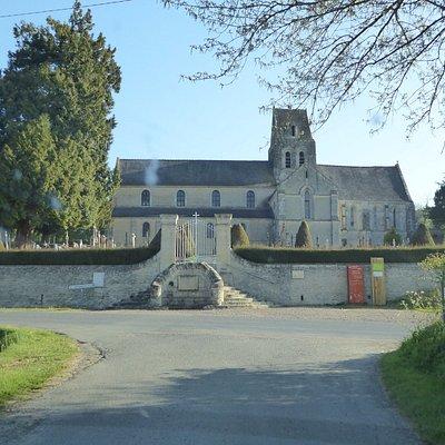 Eglise Saint Martin, from rue de l'Eglise