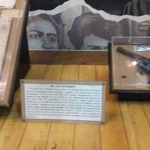 Bandaranaike Museum BMICH/ weapon that killed him