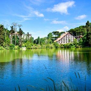 Foto em HDR que fiz do lago no periodo da tarde.