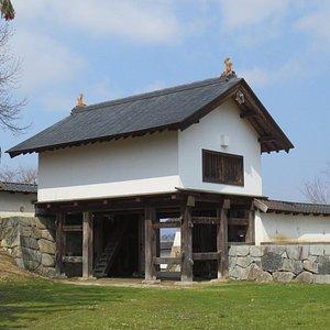 復元された西御門