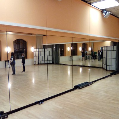 Trainingsraum für Dancing Stars