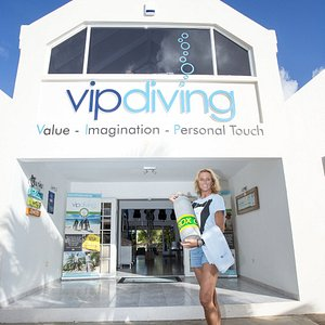 Your dive butler awaits you at VIP Diving!!! Welcome to a magical new way of diving service!