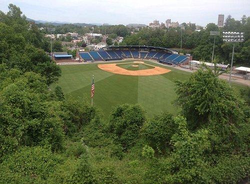 View of McCormick from Memorial Stadium