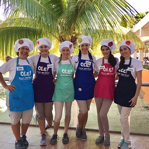 Your favorite Dancing Chefs from the port of Cozumel!