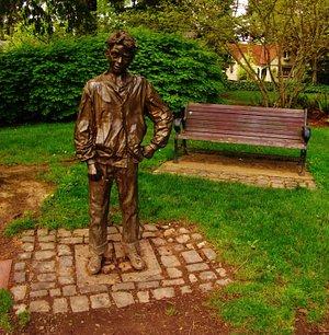Henry Higgins Sculpture