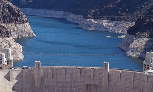 Hoover Dam from Rainbow bridge