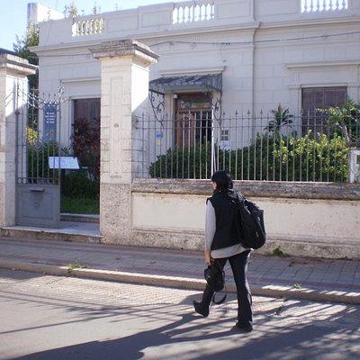 fachada del Museo de Antropología y de Ciencias Sociales de Concordia