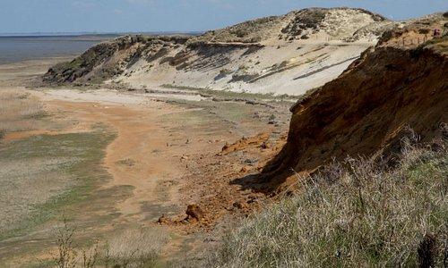 Morsumer Kliff vom Aussichtspunkt aus gesehen