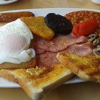 Mega Breakfast @ £7.80.......#Topnotch