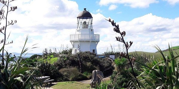 Manukau Heads Lighthouse.