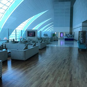 First Class Lounge Emirates